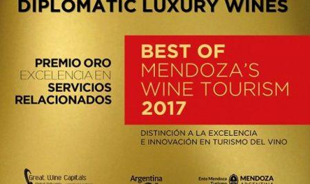 """Descubrí """"Diplomatic Luxury Wines"""", el evento que le dio un Eikon Cuyo a Diplomatic"""
