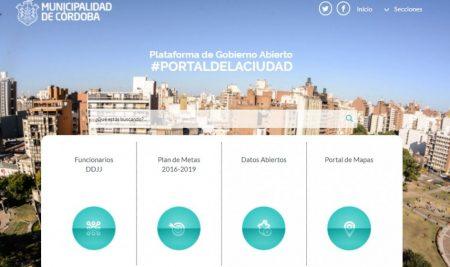 """""""GOBIERNO ABIERTO  DE  LA  CIUDAD  DE  CÓRDOBA""""Comunicación  pública  para  la  rendición  de  cuentas,  la  participación  y  la  colaboración  ciudadana."""